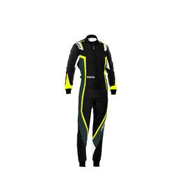 Sparco Sparco kerb overall lady zwart/geel