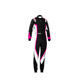 Sparco Sparco kerb overall lady zwart/roze