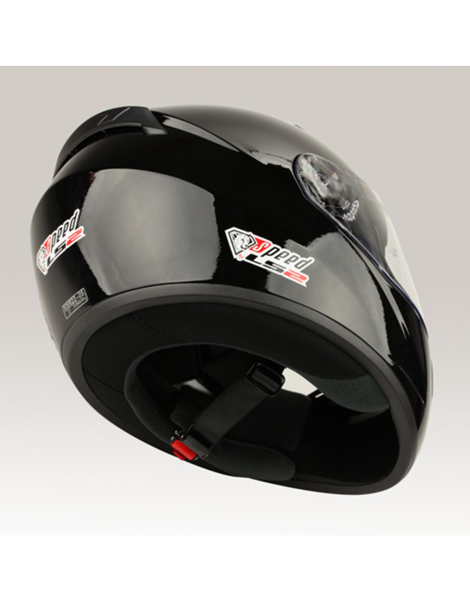 LS2 LS2 FF352 Rookie glans zwart