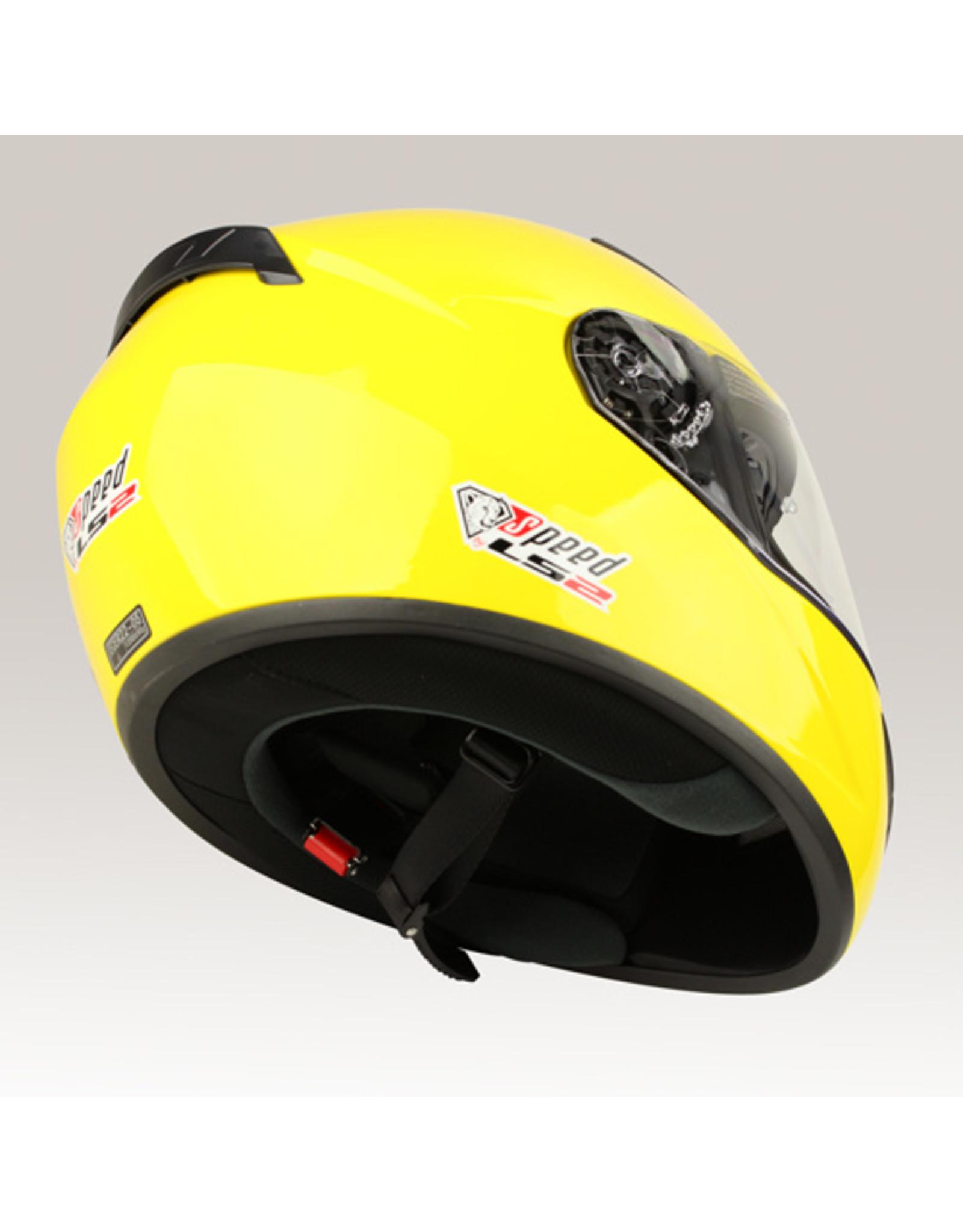 LS2 LS2 FF352 Rookie glans geel