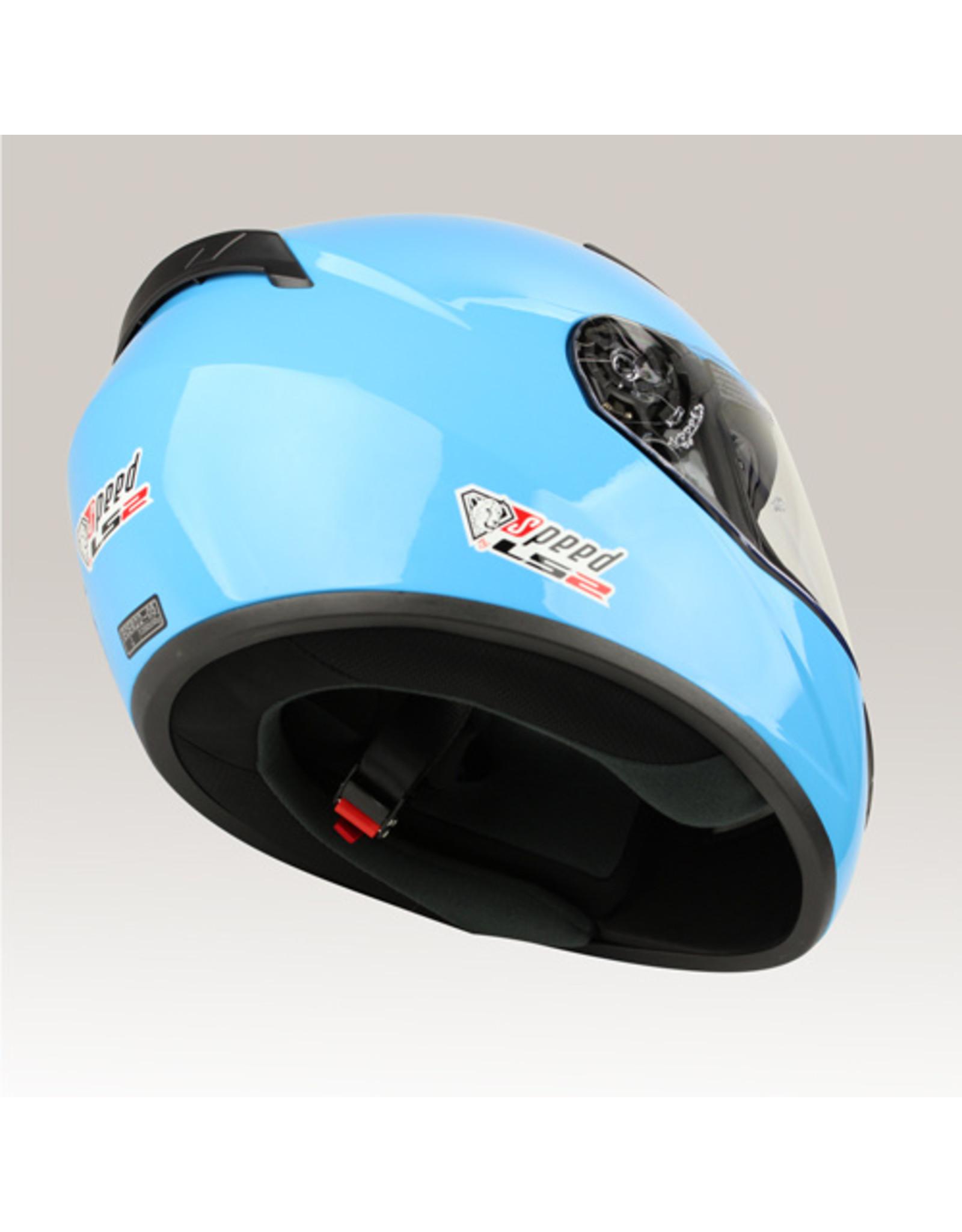 LS2 LS2 FF352 Rookie glans blauw