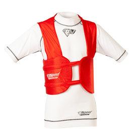 Speed Racewear Speed rib vest rood