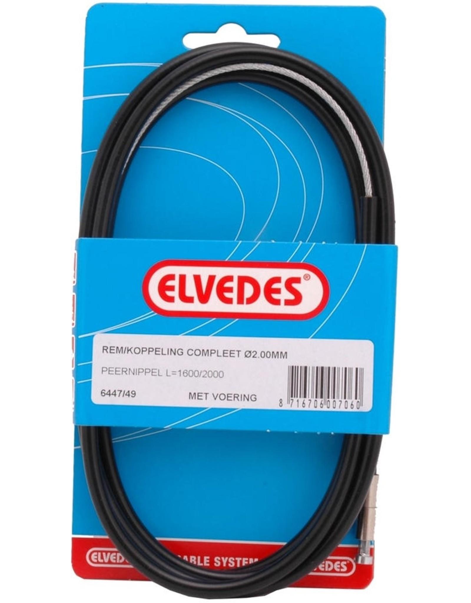 Kartsandparts Gaskabel / remkabel/ koppeling kabel aflopende kop