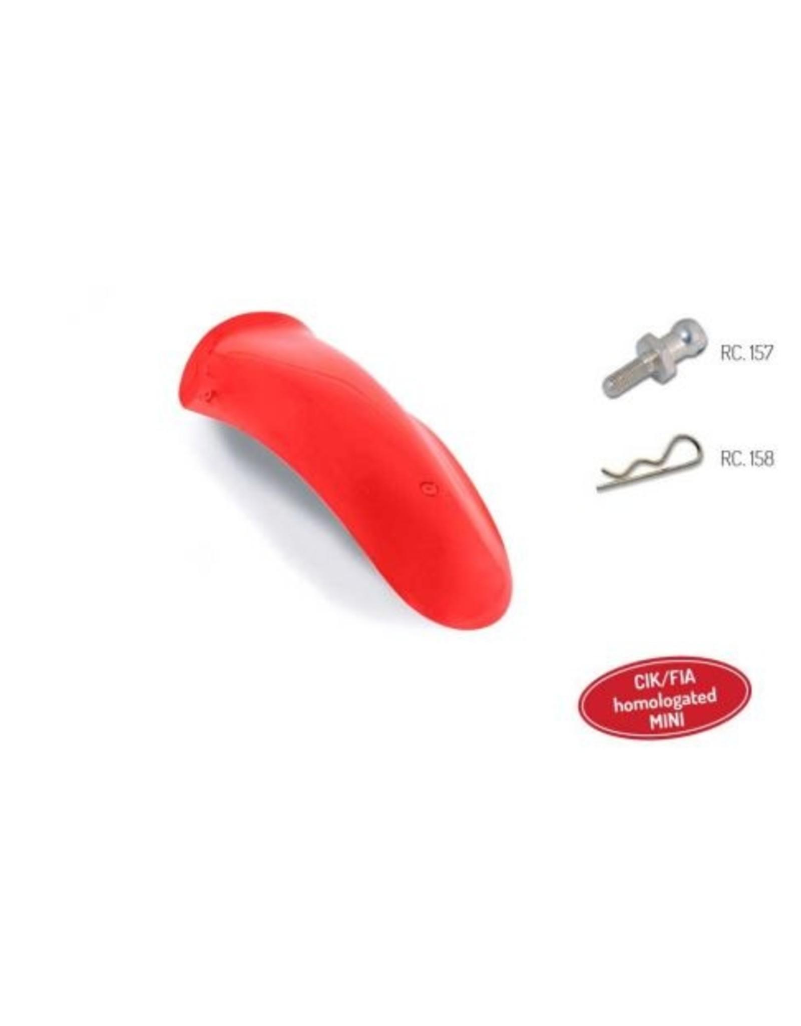 KG KG MK20 Mini voorspoiler CIK rood