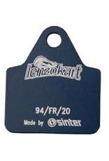 LK Line Lenzo/Luxor Mini kart remblok Hard