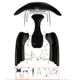 CRG CRG NA3 plastic + beugels set compleet