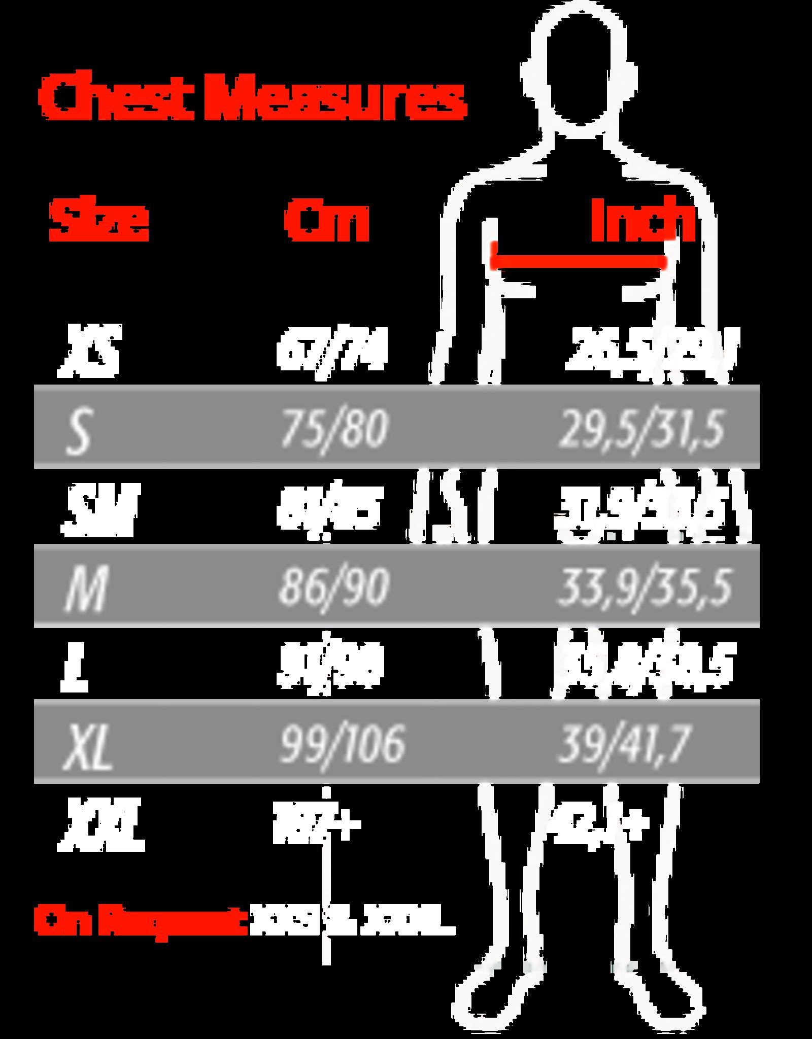 Bengio Bengio bumper rib beschermer zwart/fluor oranje