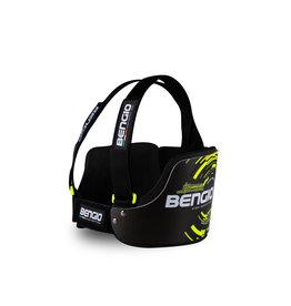 Bengio Bengio bumper rib beschermer zwart/fluor geel lady