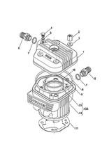 Iame Iame X30 voetpakking cilinder 0.4MM