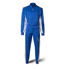 Speed Racewear Speed LVL2 Overall RS-2 Barcelona blauw
