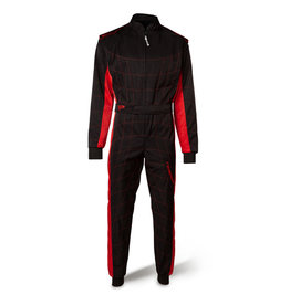 Speed Racewear Speed LVL2 Overall RS-2 Barcelona zwart/rood
