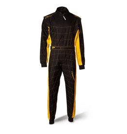 Speed Racewear Speed LVL2 Overall RS-2 Barcelona zwart/geel
