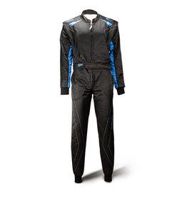Speed Racewear Speed 2 lagen Overall RS-2 Silverstone zwart/blauw