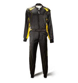 Speed Racewear Speed 2 lagen Overall RS-2 Silverstone zwart/geel