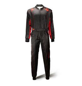 Speed Racewear Speed 2 lagen Overall RS-2 Silverstone zwart/rood