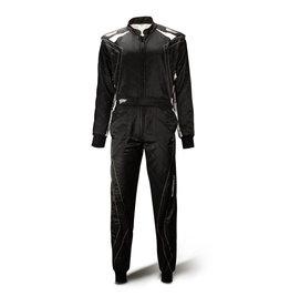 Speed Racewear Speed 2 lagen Overall RS-2 Silverstone zwart/wit