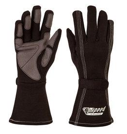 Speed Racewear Speed handschoenen Auckland G-1 Zwart