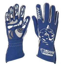 Speed Racewear Speed handschoenen Melbourne G-2 Blauw/wit