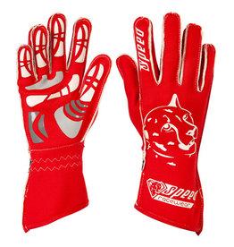 Speed Racewear Speed handschoenen Melbourne G-2 Rood/wit