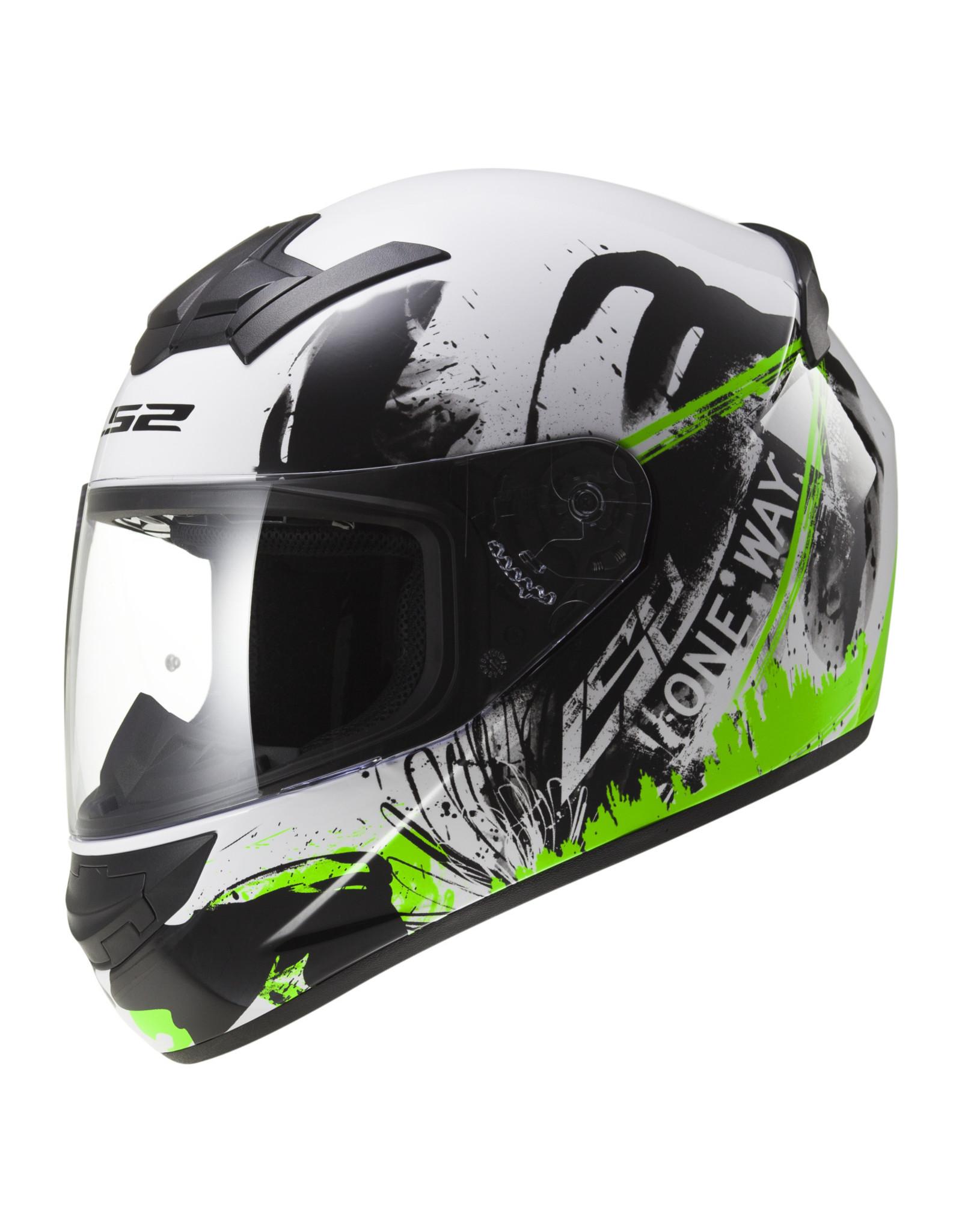 LS2 LS2 FF352 Rookie One wit/groen