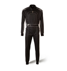 Speed Racewear Speed hobby overall DAYTONA HS-1 Zwart / wit