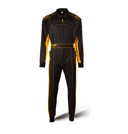 Speed Racewear Speed hobby overall DAYTONA HS-1 Zwart / geel