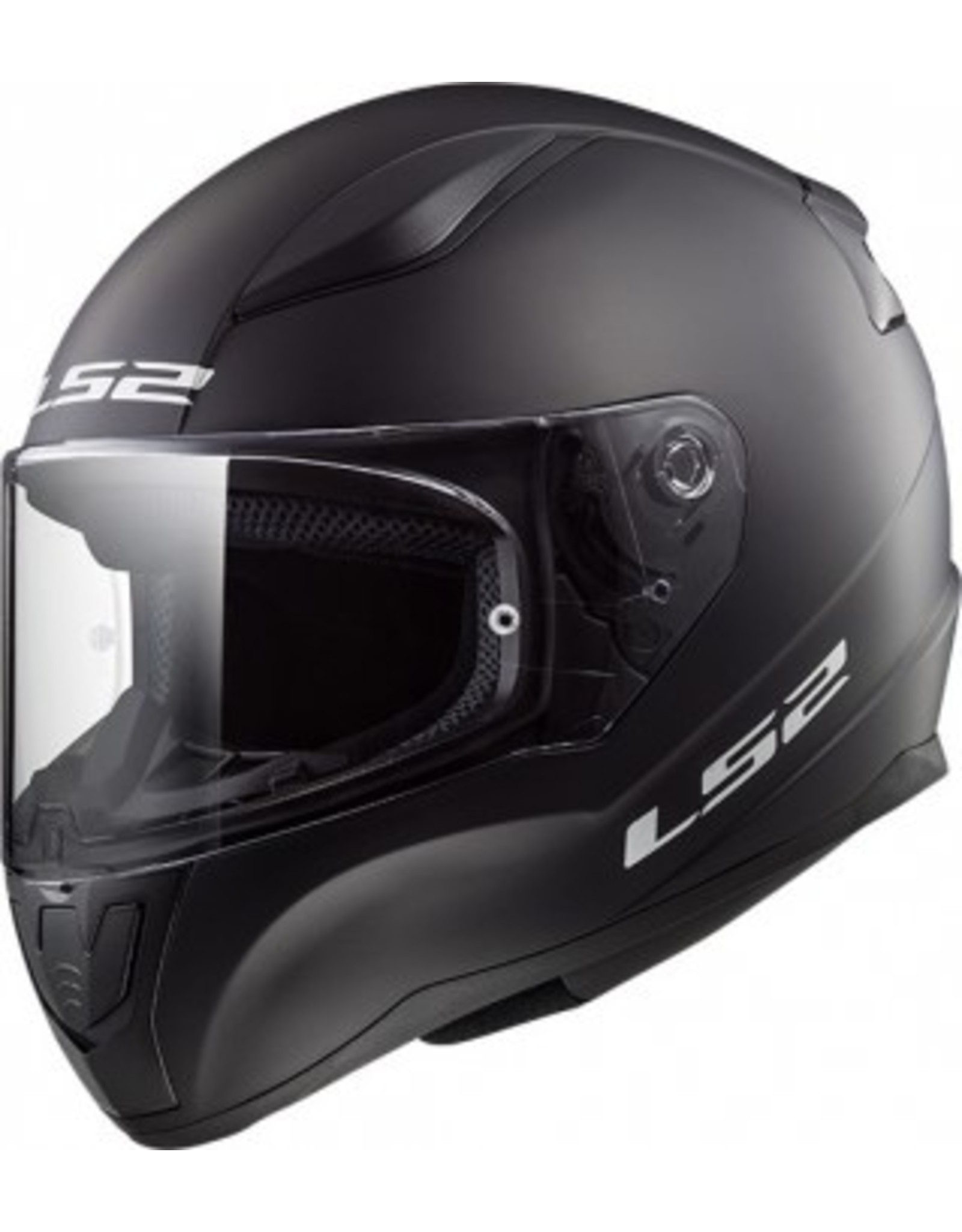 LS2 LS2 FF353 Rapid mini Kids helm matt zwart