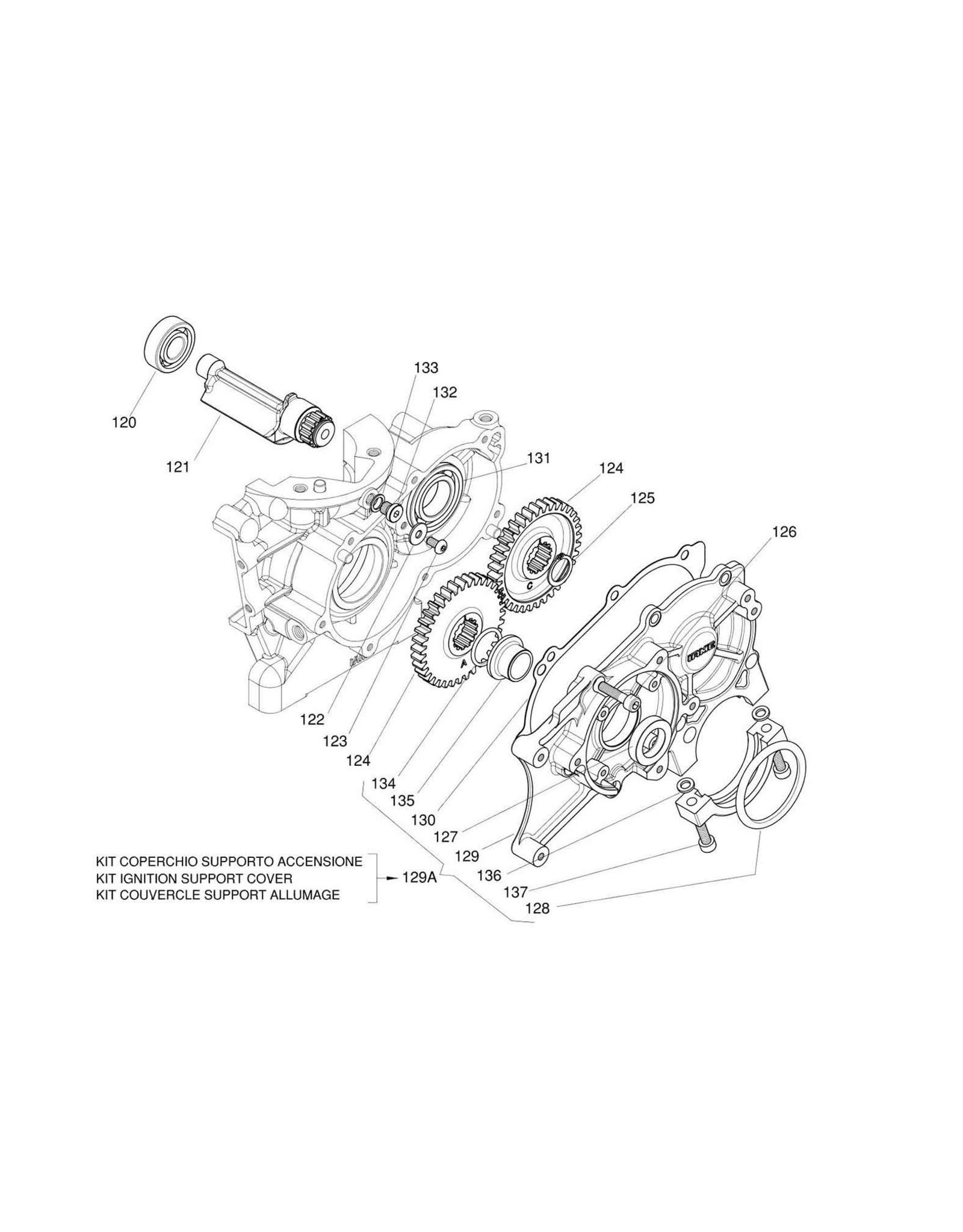 Iame Iame X30 o-ring startmotor