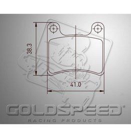 Goldspeed Goldspeed remblokset IPK/ Intrepid front