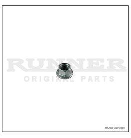 Haase Runner wielmoer M8 / Dop 10 (set 12 stuks)