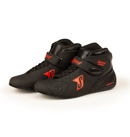 Speed Racewear Speed Rome KS-4 zwart/ rood