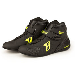 Speed Racewear Speed Rome KS-4 zwart/fluor geel