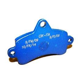 Top Kart Top kart remblok blauw (Twister  / Bullet KF achter)