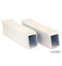 KG KG zijbak minikart wit