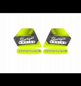 Kartsandparts Sturgis Team sticker kit voor Benzine Tank