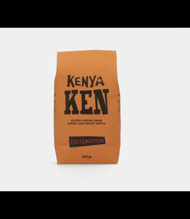 Caffènation Kenya Ngia Ndei peaberry 250 gr