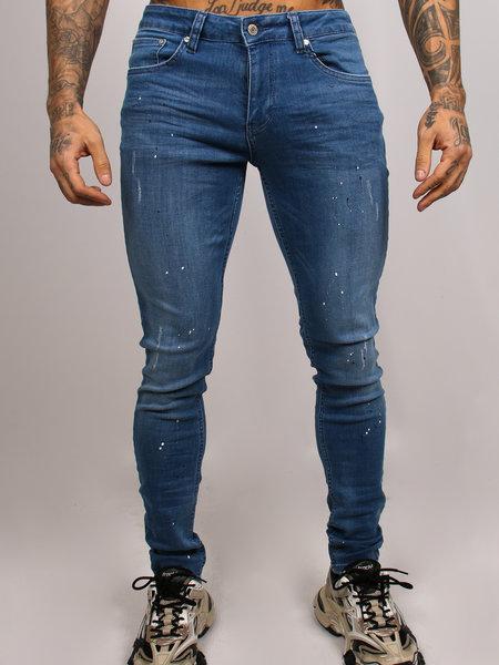 Paint Jeans Light Blue