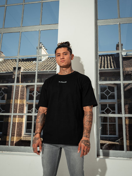 Oversized T-Shirt - Solid Black
