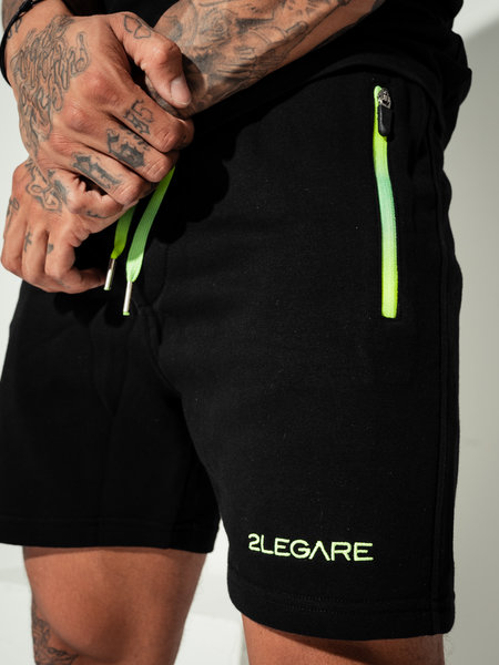 Neon Fade Short Black Neon Yellow/Green