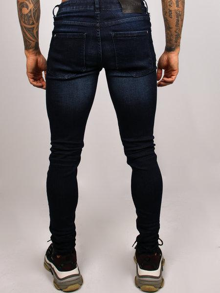 2LEGARE Noah Stretch Jeans Dark Blue