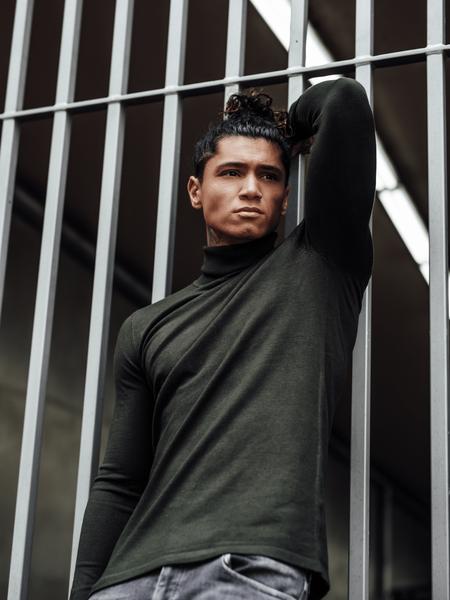 Turtleneck Knitwear - Army