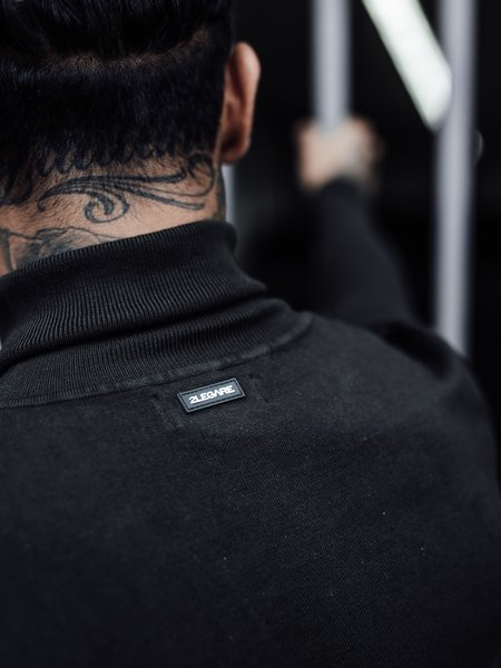 2LEGARE Turtleneck Knitwear - Army