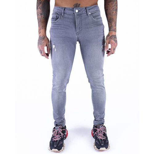 2LEGARE Noah 104 Destroyed - Light Grey