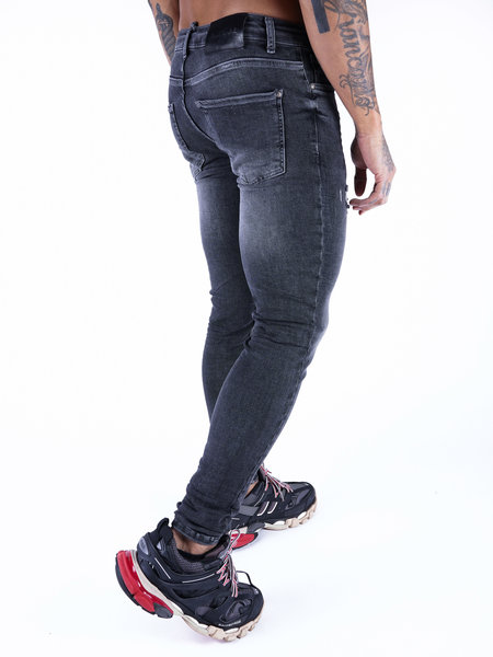 2LEGARE Noah Destroyed Jeans 103 - Mid Grey