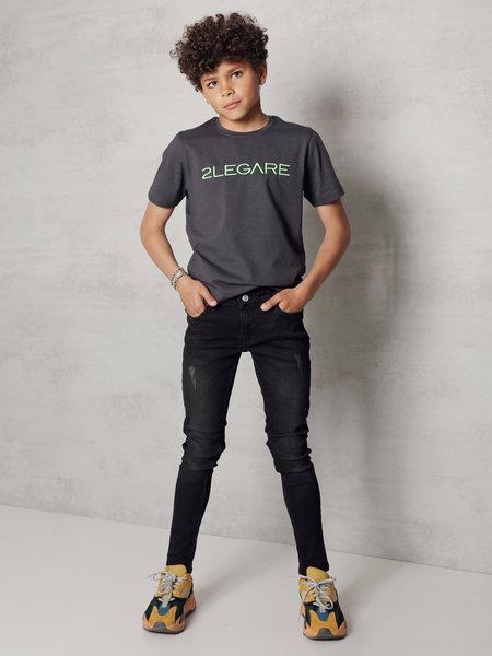 2LEGARE Kids Noah Jeans - Ultra Black