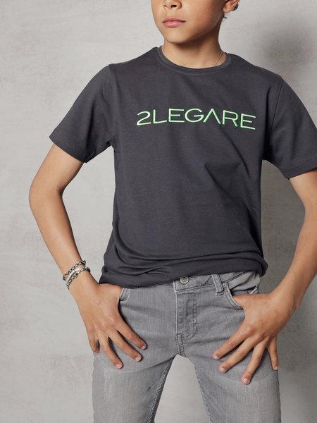 2LEGARE Kids Noah Jeans - Light Grey