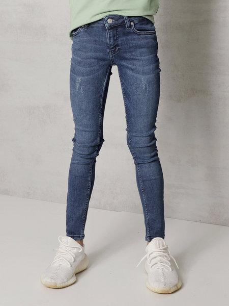 Kids Noah Jeans - Solid Blue
