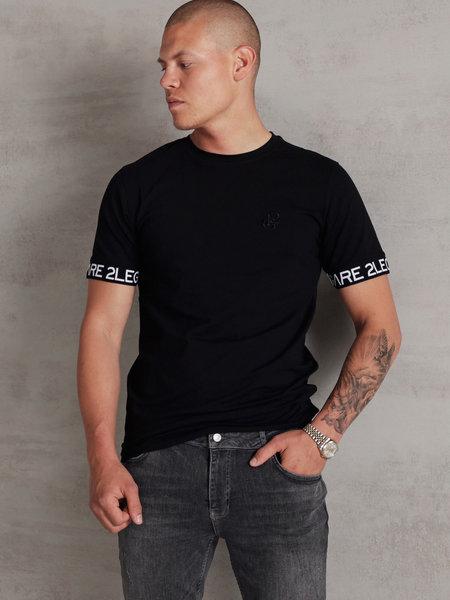 Logo Sleeve T-Shirt - Black