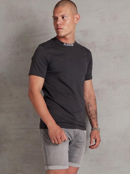 Logo Collar T-Shirt - Dark Grey