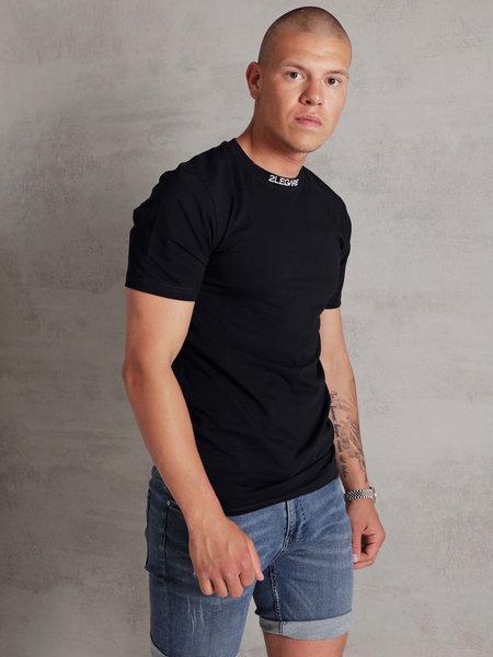 Logo Collar T-Shirt - Dark Navy